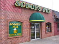 Scoop's Pub & Grill from front
