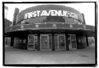 First Avenue & 7th St. Entry from front