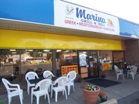 Marina Grill & Deli from front