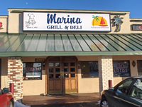 Big Marina Grill & Deli from front