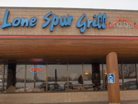 Lone Spur Grill & Bar from front