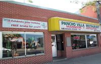 Pancho Villa Restaurant from front