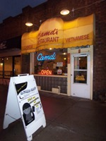 Camdi Restaurant from front