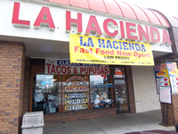 La Hacienda from front