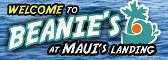 logo of Beanie's boat launch<br> at Maui's Landing