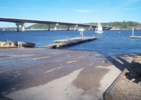 Picture of Beanie's boat launch<br> at Maui's Landing