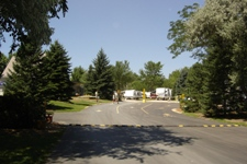 St Paul East RV Park from front