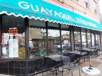 Guayaquil Restaurant from front