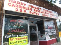 Harry Singh's Original Caribbean Restaurant from front