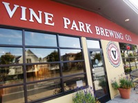 Vine Park Brewing Company from front