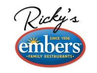 logo of Ricky's Embers America