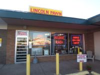 Lincoln Pawn from front