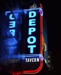 The Depot Tavern from front