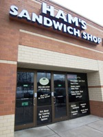 Ham's Sandwich Shop from front