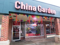 China Garden from front