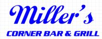 logo of Miller's Corner Bar and Grill