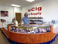 Picture of ecig and supply