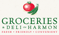 logo of Groceries and Deli on Harmon