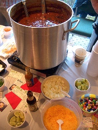 Biff's 10th Annual Chili Cookoff