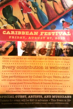 Caribean Festival <br>Friday, August 27th