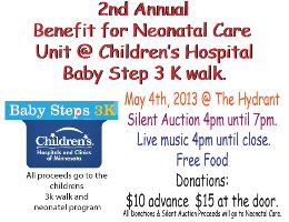Children Hospital Benefit <br>Hydrant bar